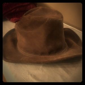 Browns suede boho hat
